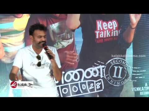 Premji Amaren at Chennai 600028 II Movie Press Meet