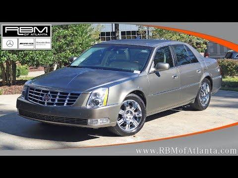 Used 2011 Cadillac DTS Platinum Collection ATLANTA, GA M32499A SOLD