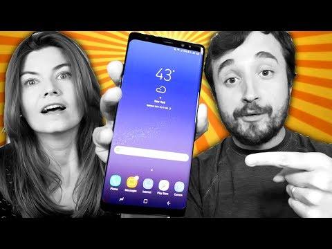 ELE ESTÁ AQUI! - Galaxy Note 8