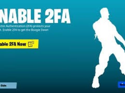 How to enable 2FA for Fortnite Battle Royale
