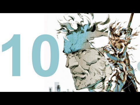 MGS 2 HD Collection - Walkthrough - Part 10 (No Commentary)