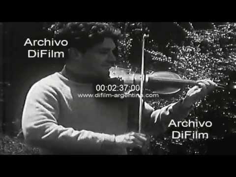 DiFilm - Imagenes del violinista argentino Alberto Lysy 1967