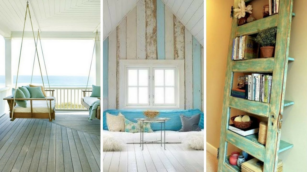 5 Cute Shabby Chic Beach Style Décor Ideas You Should Try Without Spending A Fortune