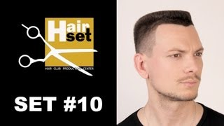 Hair Set #10 (стрижка площадка, коктейльная прическа, Revlon Sensor Perm Computer - GB, RU)(HAIR SET video magazine #10 (audio: Russian, subtitles: ENGLISH, Russian) 1. Men's flattop haircut. Performed by the world class master Alexander Kuvvatov, ..., 2013-02-06T08:00:40.000Z)