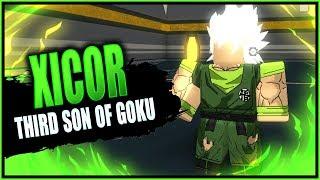 XICOR DER DRITTE SON VON GOKU! | Roblox Anime Cross 2 benutzerdefinierte Charakter Build | iBeMaine