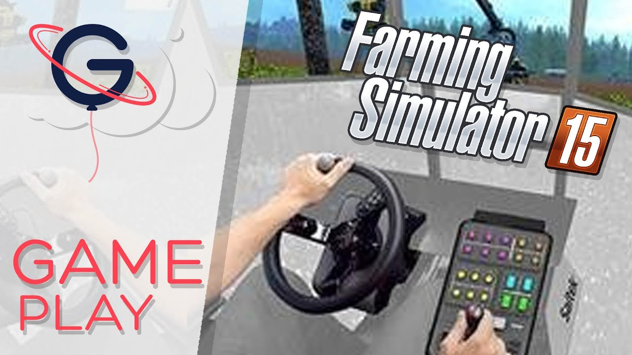 volant farming simulator premi res impressions youtube. Black Bedroom Furniture Sets. Home Design Ideas