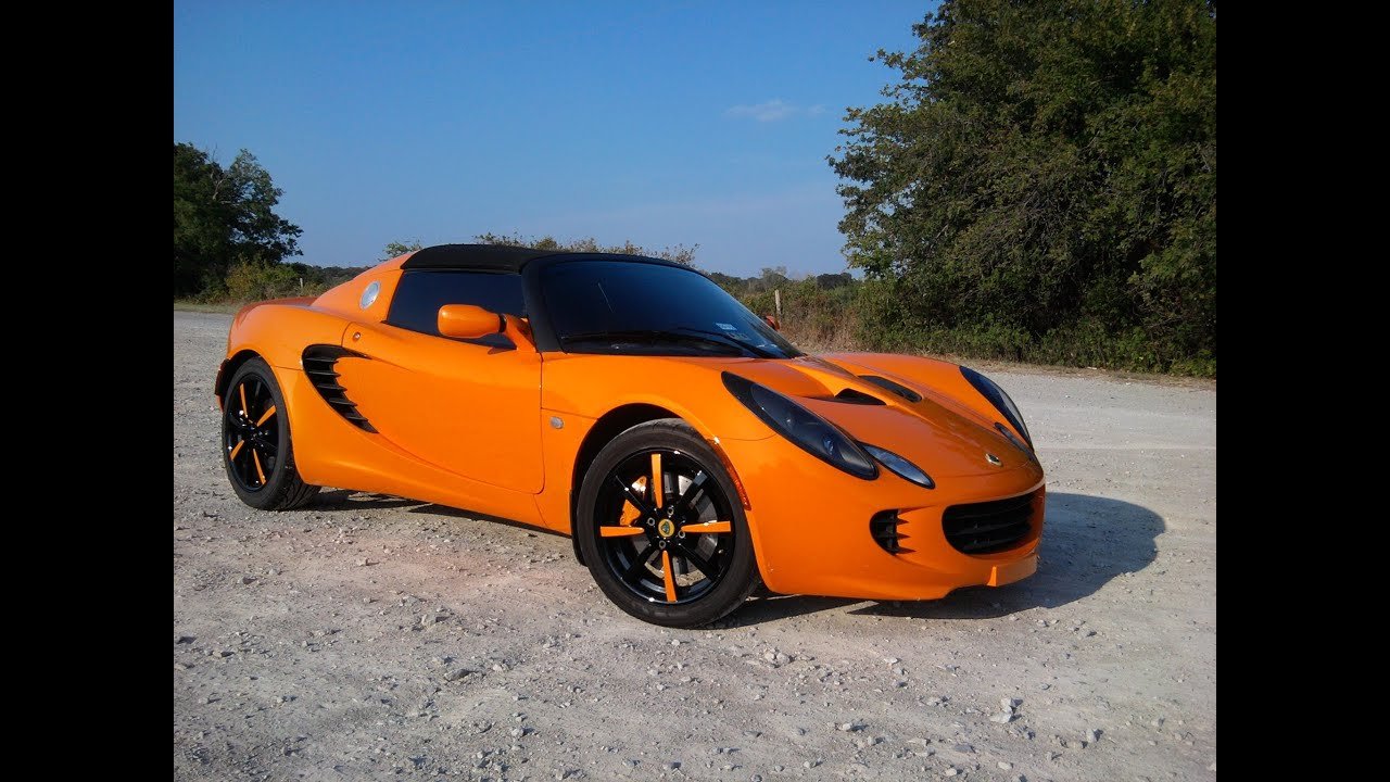2005 lotus elise super car with custom exhaust youtube. Black Bedroom Furniture Sets. Home Design Ideas