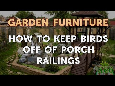 How To Keep Birds Off Of Porch Railings