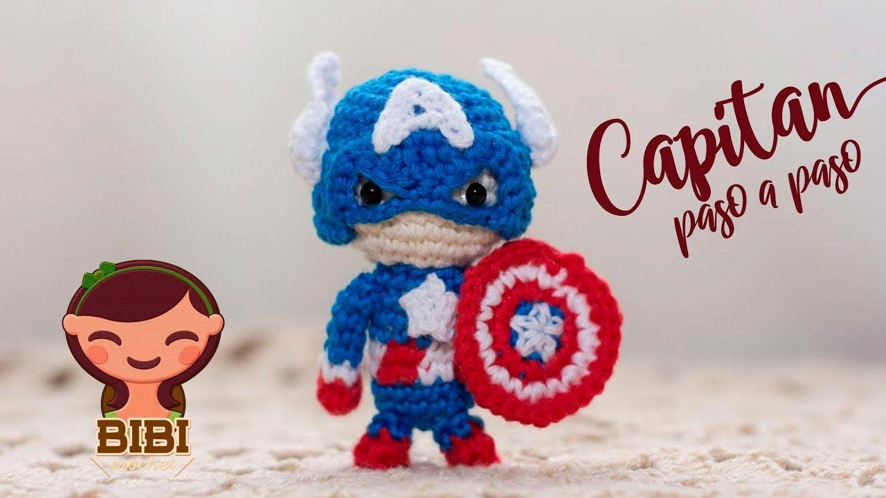 Amigurumi Como Hacer A Capitan America En Crochet Bibi Crochet