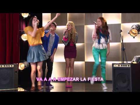 Disney Channel España | Videoclip Karaoke Violetta - Alcancemos Las Estrellas