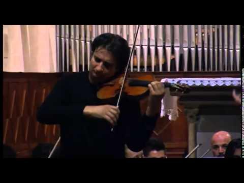 Mozart, violin concerto no.5 - Maurizio Sciarretta