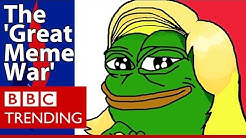 Front National denies any role in 'Great Meme War' - BBC Trending