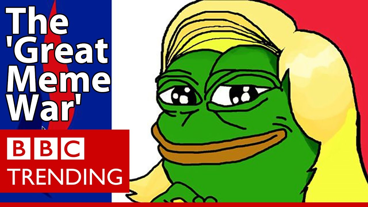 maxresdefault front national denies any role in 'great meme war' bbc trending