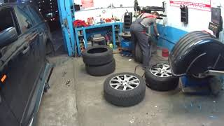 Подготовка к зиме. Особенности шиномонтажа и  технические моменты о Range Rover Sport. #569