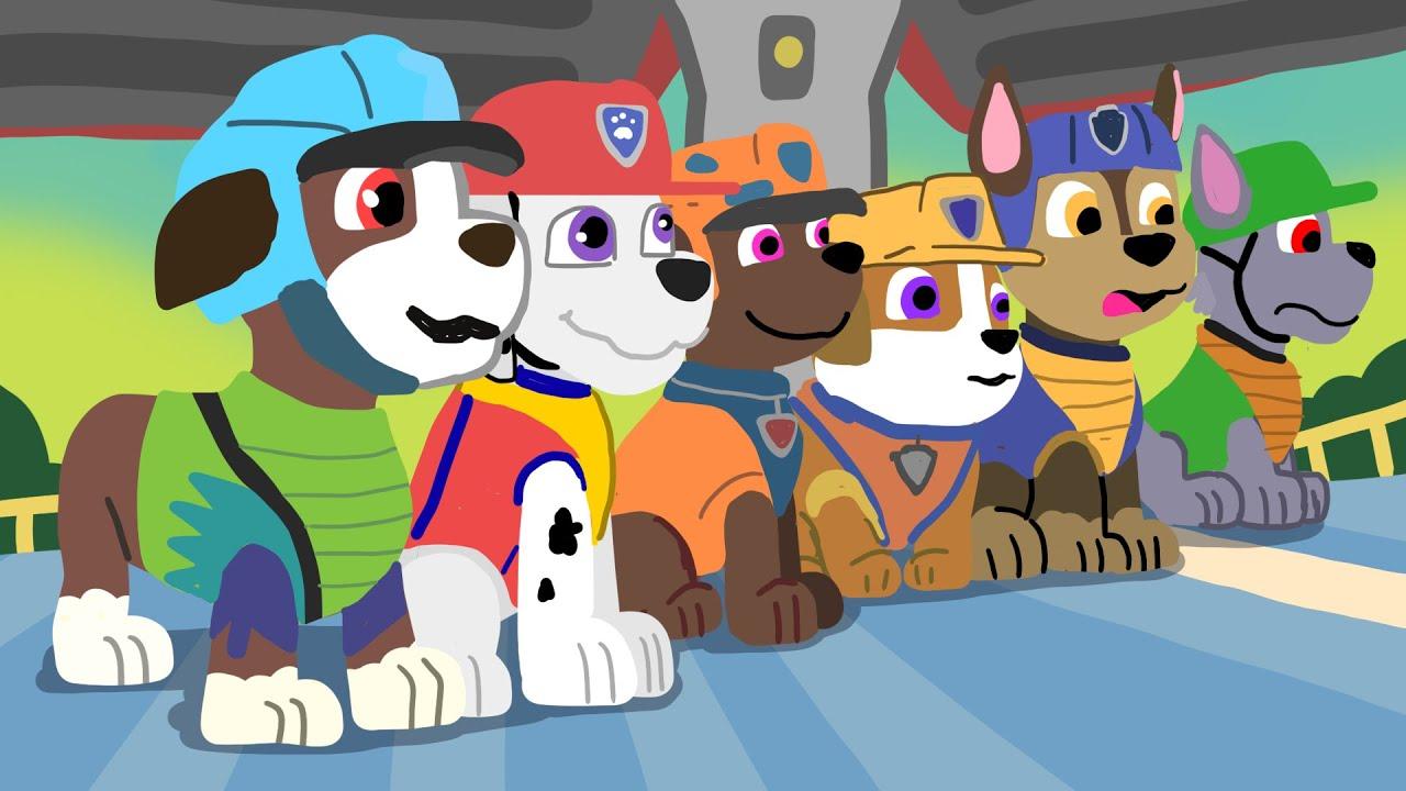 paw patrol dino rescue nickjr doodles  youtube