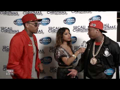 Chris Brown + Tyga talk Between The Sheets Tour at Cali Christmas 2014