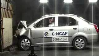 Chinese car crash test  Chery QQ6 Cncap-Crash test