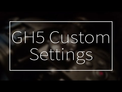 How to set up your GH5 for Wedding Filmmaking (downloadable settings for GH5)