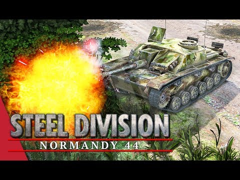 Not My Finest Hour! Steel Division: Normandy 44 Gameplay (Mont Ormel, 2v2)