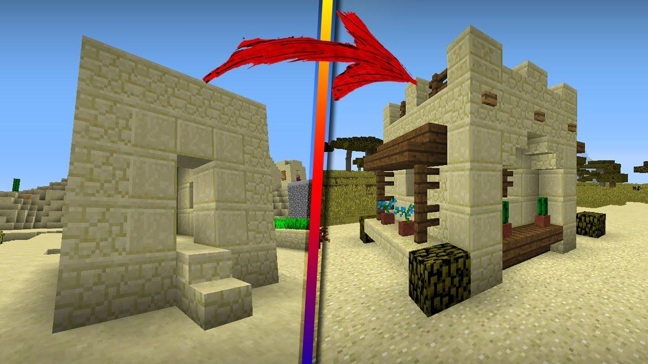 Como remodelar una peque a casa de la aldea del desierto for Como remodelar mi casa