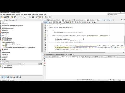 Generacion Codigo QR PDF417 ZXING JAVA
