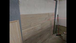 Укладка ламината на стену (фото и видео)