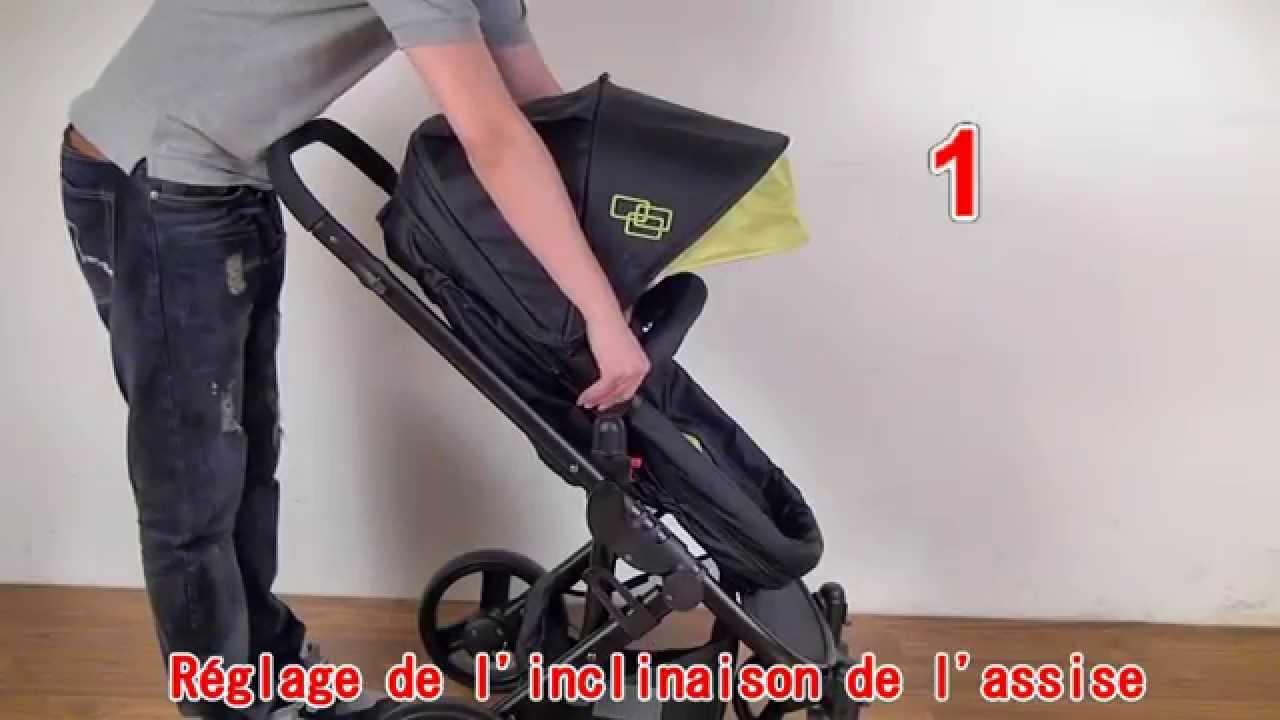 poussette bebe 2en1
