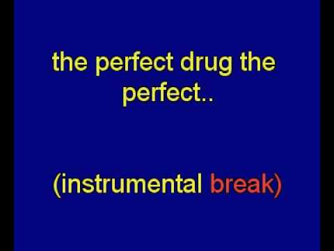 middle finger presents :the perfect drug-NIN
