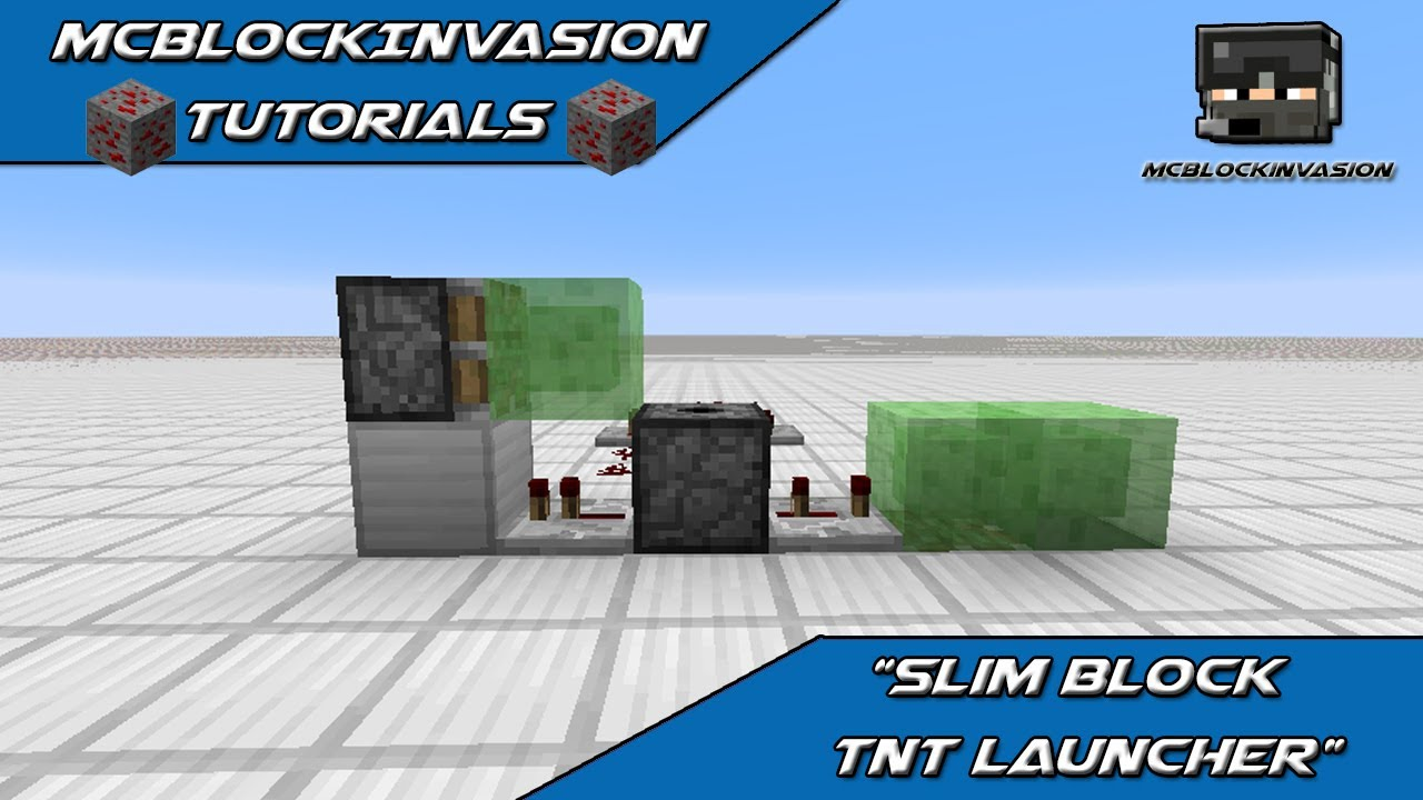 1 8 snapshot tutorial slime block tnt cannon youtube. Black Bedroom Furniture Sets. Home Design Ideas