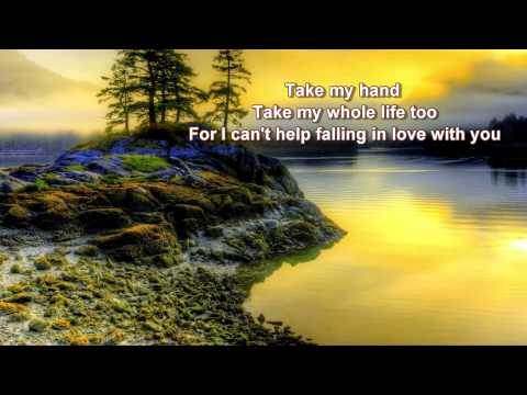UB40 + (I Can't Help) Falling In Love With You + Lyrics/HD