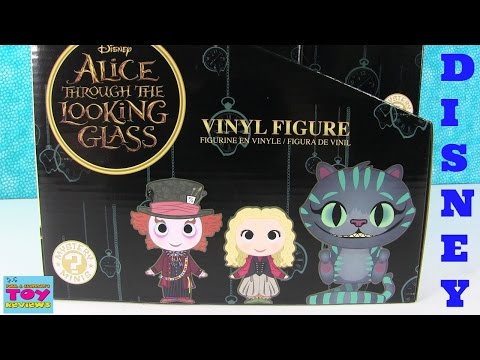Disney Alice Through The Looking Glass Funko Mystery Minis Opening | PSToyReviews