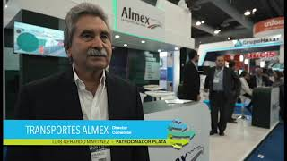 Logistic Summit & Expo - Testimonial expositor TRANSPORTES ALMEX – Luis Gerardo Martínez