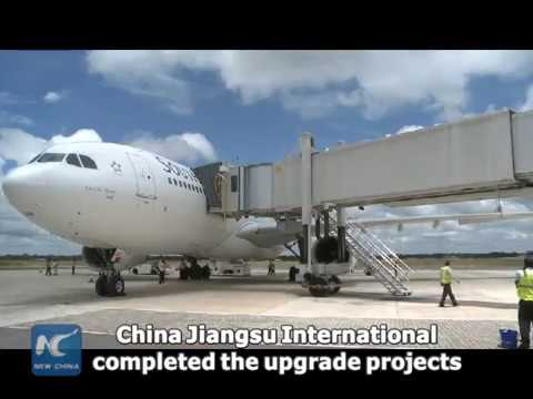 China-upgraded Zimbabwe's Victoria Falls Airport welcomes wide body aircraft