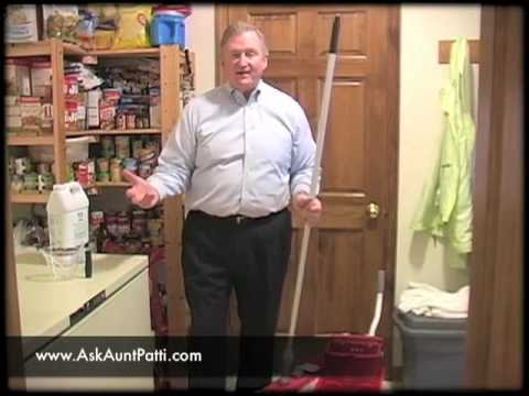 Restoring Shine to a No-Wax Floor