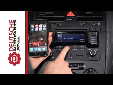 Features Of The OEM VW RMT300 (Bluetooth) Radio