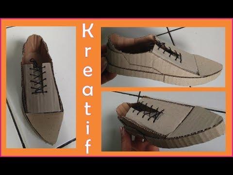 Kerajinan Dari Kardus Sepatu