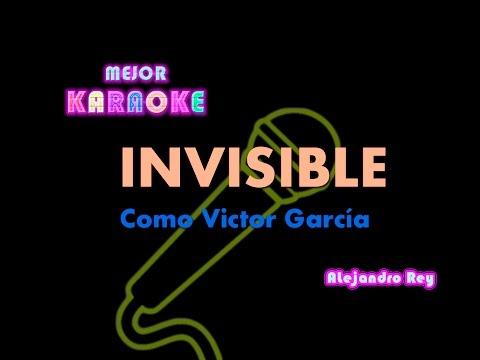 Invisible Victor Garcia Mejor Karaoke