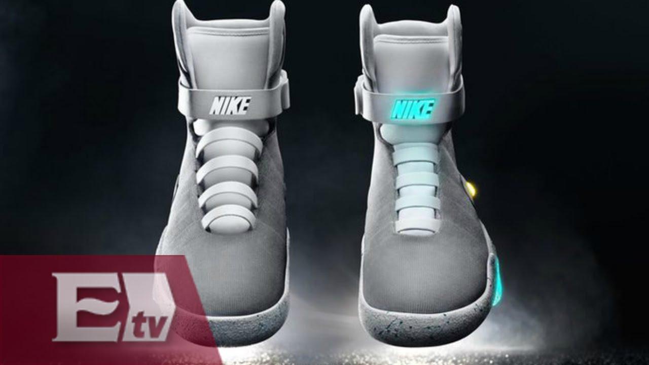 Eh Groenlandia llenar  Nike presenta sus zapatillas que se atan solas / Rodrigo Pacheco - YouTube