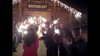 Sparkler Grand Exit--Spearfish Canyon Lodge