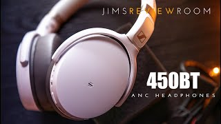 Sennheiser HD 450BT ACTIVE NOISE CANCELLING Headphones - REVIEW