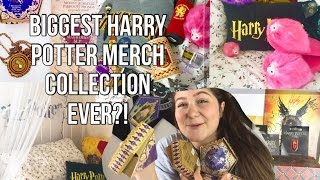BIGGEST HARRY POTTER MERCH COLLECTION EVER?!?