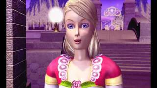 Barbie and the 12 Dancing Princesses Game - Funny Scenes ( Russian version )