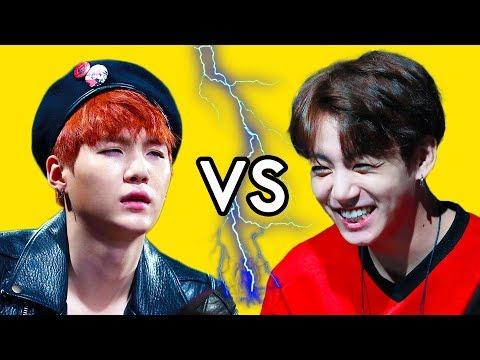Maknae Line VS. Hyungs 😆 BTS (방탄소년단 / 防弾少年团)
