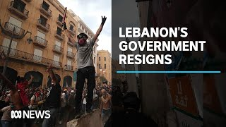 Lebanon's Government quits as protests continue over deadly Beirut explosion | ABC News
