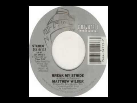 Matthew Wilder - Break My Stride (1983)