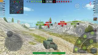 Playing world of tanks
