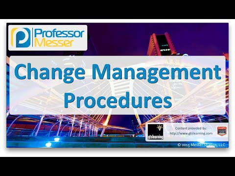 Descargar Video Change Management Procedures - CompTIA Network+ N10-006 - 5.8