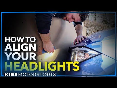 How to AIM, ADJUST, and ALIGN any Headlights (F30 BMW, Subaru, Honda, Toyota..)