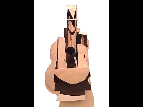 Eric Vaarzon Morel building a flamenco guitar