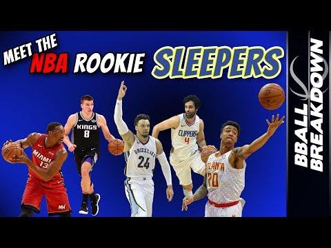 Meet The NBA ROOKIE Sleepers